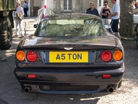aston martin virage v8 A5TON carentan normandie 2004