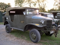 dodge wc24 1/2 ton command car normandie 2004