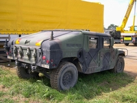 humvee colleville normandie 2004