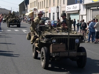 jeep willys défilé carentan normandie 2004