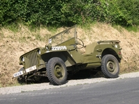 jeep willys englesqueville-la-percee normandie 2004