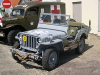 jeep willys us navy normandie 2004