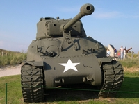 sherman m4a1 76mm hvss utah beach normandie 2004