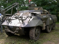 ford m20 armored car tanks in town 2005 mons bois brûlé ghlin