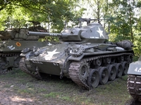 m24 chaffee tanks in town 2005 mons bois brûlé ghlin